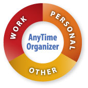 Work, Personal, and Other - AnyTime Organizer